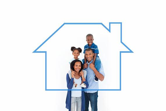 Family giving children piggyback ride against house outline-v2.jpg