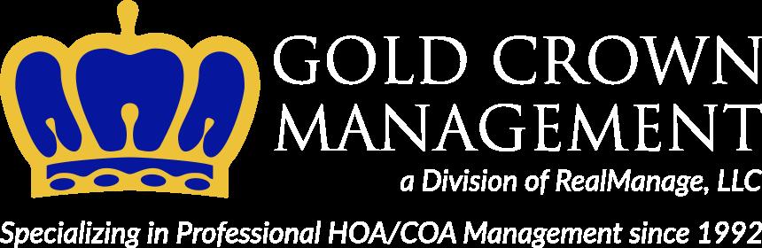 LOGO- Gold Crown Management [white]