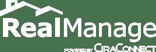 White RealManage Logo
