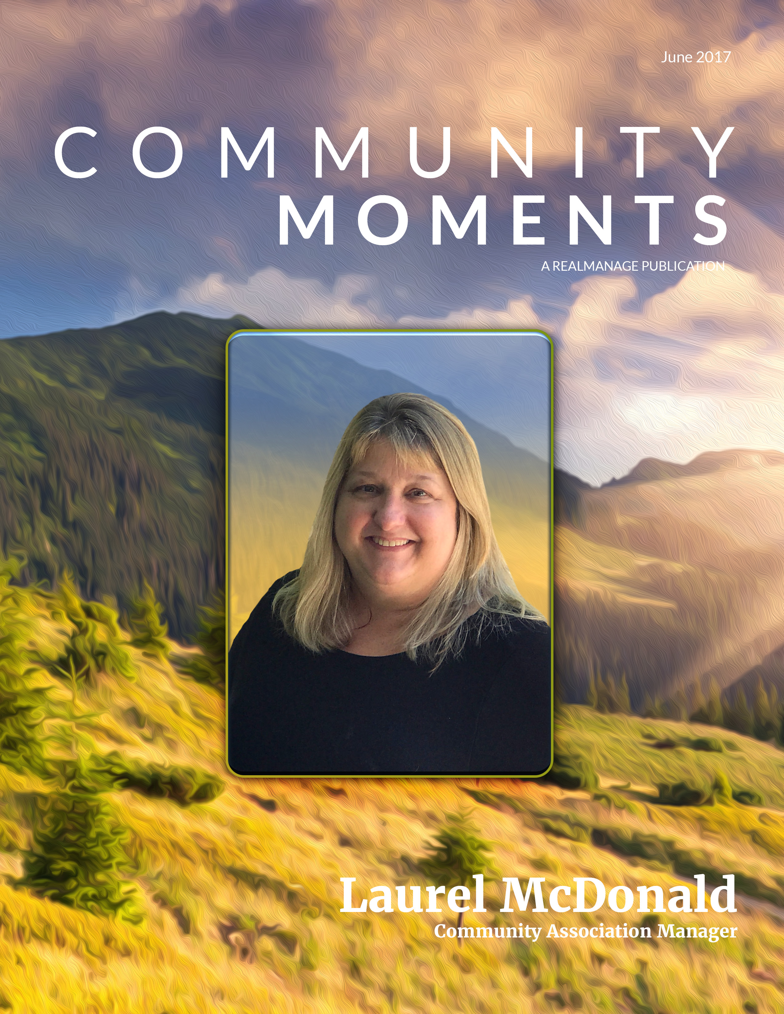 June 2017, Community Moments Magazine Cover