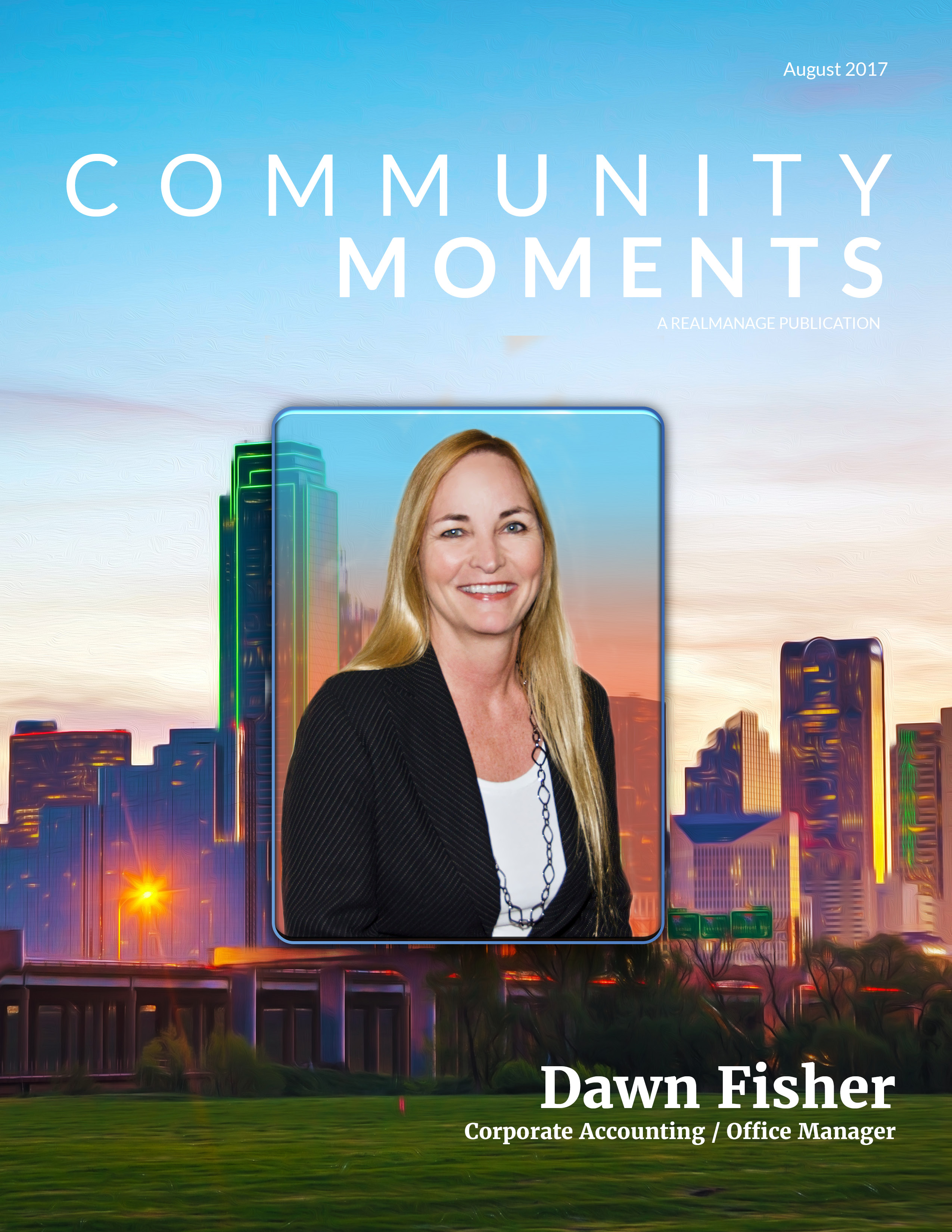 August 2017 Community Moments Cover Page