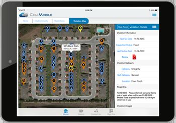 violation management services configuration